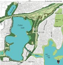 Lake Maps Mn Cedar Lake Park Association Cedar Lake Park In Minneapolis