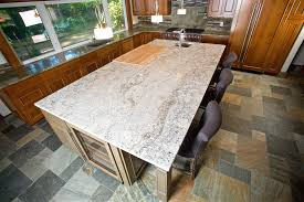 Kitchen Island Granite Countertop Granite Kitchen Countertop Designs And Styles Angie S List