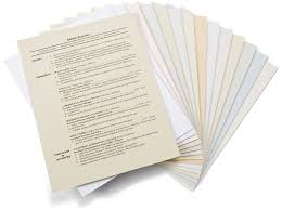 Resume Paper And Envelopes Resume Aesthetics Font Margins And Paper Guidelines Resume Genius