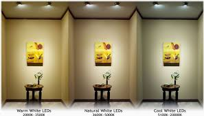 white led color temperature difference an easy guide on how to