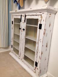 Jelly Cabinet With Glass Doors Furniture Large Diy Distressed White Medicine Cabinet With Glass