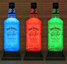 jack daniels winter cider color changing led remote controlled jack daniels winter cider color changing led remote controlled bottle lamp bar light bodacious bottles