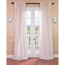 Plum Faux Silk Curtains Exclusive Fabrics Filigree Pearl Flocked Faux Silk Curtain Panel