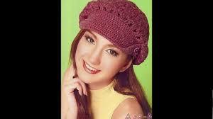 modelos modernos para gorras tejidas con gorros tejidos a crochet con patrones youtube