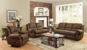 Best Deals On Leather Sofas Furniture Brown Leather Sofa Leather Reclining Couch Sofa And
