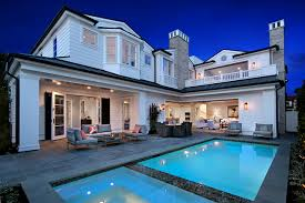 image villa usa swimming bath newport beach cities houses