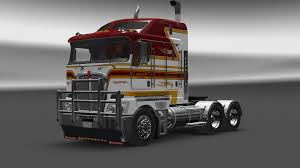 kenworth kenworth t908 interior v5 0 for ets 2 zagruzka mods com