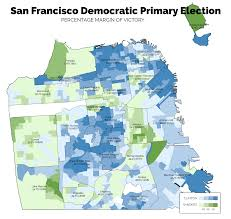 Nytimes Election Map by California Post Primary Analysis San Francisco County