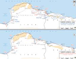 Ww2 Europe Map by Map Of Wwii North Africa 1941 42