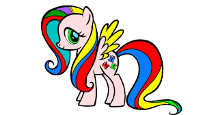 my little pony coloring page youtube