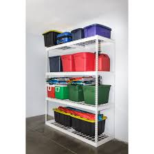 Free Standing Storage Shelf Plans by Garage Shelving Storage Racks And Shelves Saferacks