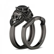 black wedding rings skull wedding rings wedding rings