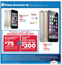 black friday sales t mobile look walmart releases black friday ad sales start at 6 p m on