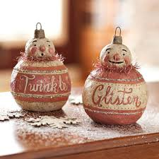 make a 19th century inspired ornament vintage ornaments