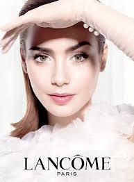 Makeup Ily ily collins lancome collins lancome and ads