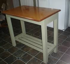 retro kitchen islands kitchen island genius idea upcycle a vintage metal table top as a