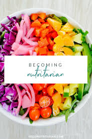 becoming nutritarian the