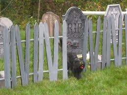 cemetery fence halloween prop smarthome forum my insteon controlled halloween graveyard 2008