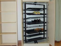 Shoe Rack For Closet Door Hanging Shoe Rack Target In Peaceably Shoe Storage As As