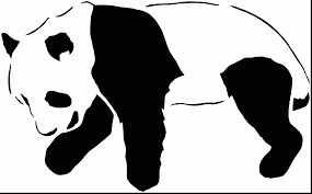 impressive giant panda bear coloring pages with panda coloring