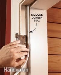 Exterior Door Seal Replacement Exterior Door Weatherstripping Replacing A Co 31015 Evantbyrne Info