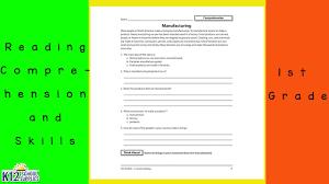 reading comprehension reading comprehension worksheets youtube