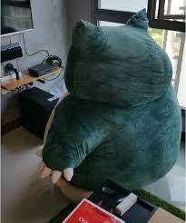 Pokemon Snorlax Bean Bag Chair S U0027pore Man Buys 3 Life Sized Snorlax Plushies Thinking It Was