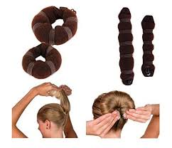 hair bun clip 43 best hair bun and crown shaper images on bun