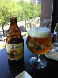 bicchieri birra belga la chouffe