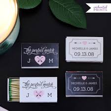 matchbook wedding favors the match personalized matchbox covers wedding favor