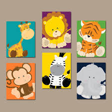 Aliexpresscom  Buy Cartoon Wall Picture Canvas Prints Cuadros - Canvas art for kids rooms