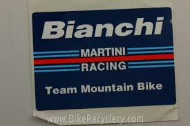 martini vintage vintage bianchi team martini mountain bike racing sticker free
