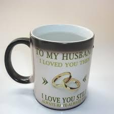 geschenk hochzeitstag mann zu meinem mann hochzeitstag geschenk kaffee becher magie