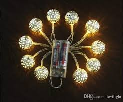 custom length christmas light strings manufacturers wholesale led moroccan iron ball indoor festive