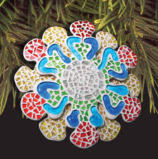 free ornament project guide mosaic