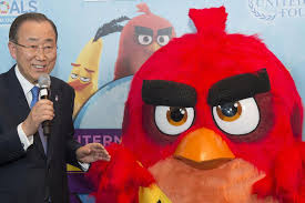united nations centre appoints red u0027angry birds