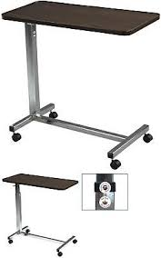 drive medical multi purpose tilt top overbed table drive medical 13003 non tilt top overbed table chrome 64 99