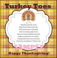 free pritable thanksgiving turkey toes poem corn