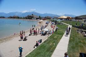 Utah beaches images Explore utah 12 places to go swimming in utah temple square jpg