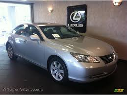 lexus metallic 2007 lexus es 350 in tungsten silver metallic 092134