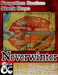 Forgotten Realms Map The Stop Forgotten Realms Stock Maps Dungeon Masters Guild