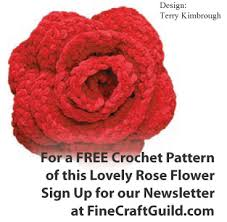 beautiful crochet flower patterns
