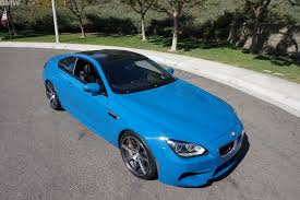 bmw m6 blue 2014 bmw m6 coupe competition package in laguna seca blue
