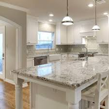Current Obsessions 8 Heavenly Kitchens With White Granite