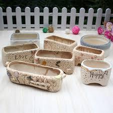 Cute Succulent Pots Online Get Cheap Painted Pots Aliexpress Com Alibaba Group