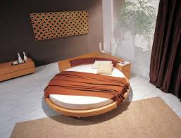 Wooden Bedroom Design Bedroom Excellent Bedroom Design With Round Wooden Bed And Brown