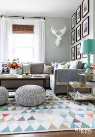 Turquoise And Grey Living Room 61 Family Friendly Living Room Interior Ideas Living Room