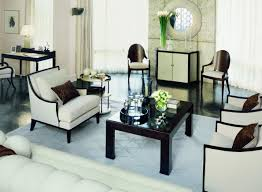 Gordon Tufted Chair Living Room Glamorous Art Deco Living Room With Tufted White