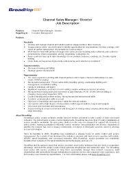 Executive Recruiters Job Description Sales Manager Typical Job Description Xpertresumes Com