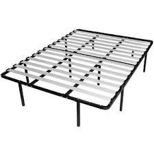 No Box Spring Bed Frame Greenhome123 Full Size Metal Platform Bed Frame With Wood Slats